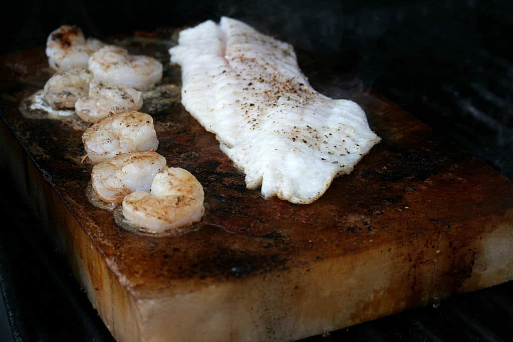 Cooking with himalayan pink salt salts worldwide for Cooking fish on a salt block
