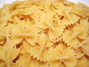 Farfalle with Ramps, Fiddleheads, and French Grey Salt