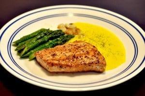 Grilled Salmon with Black Lava Hawaiian Salt