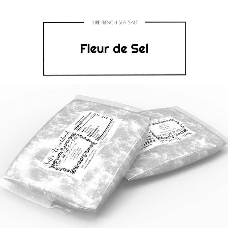 Fleur De Sel – Flor da Sal – Hand Harvested Salt from France