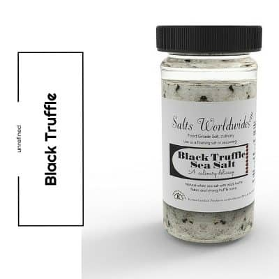 Black Truffle Salt Jar