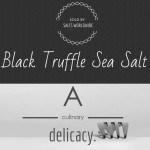 What is Black Truffle Salt