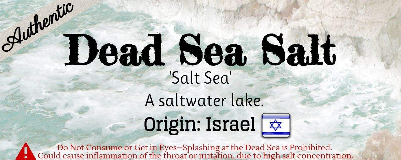 What is Dead Sea Salt