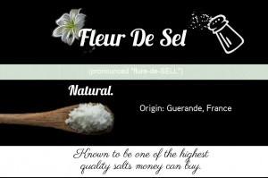 What is Fleur de Sel