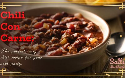 Chili Con Carne: The perfect, easy chili recipe for your next party.