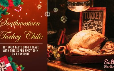 Southwestern Turkey Chili: Set your taste buds ablaze with this super spicy spin on a favorite