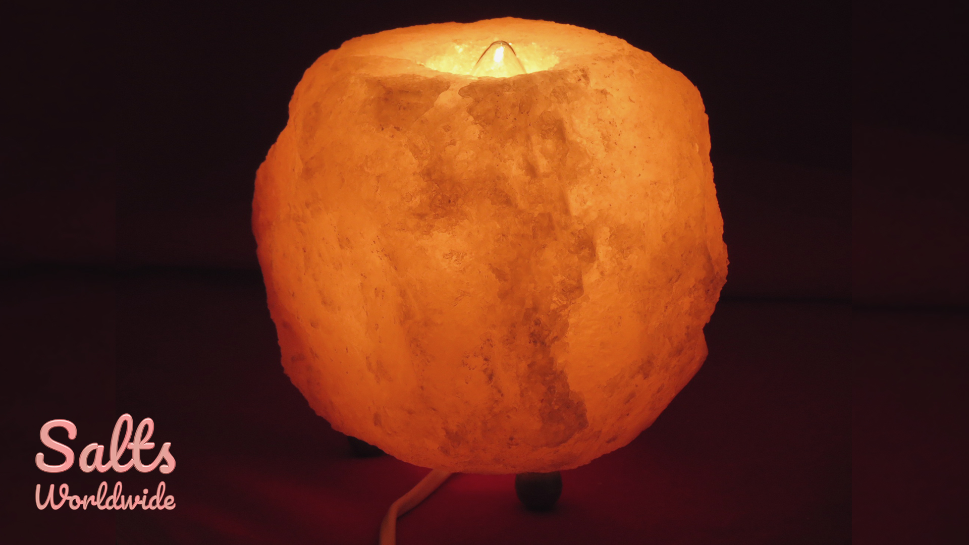 Salt Rocks for Anxiety - Rock Lamps