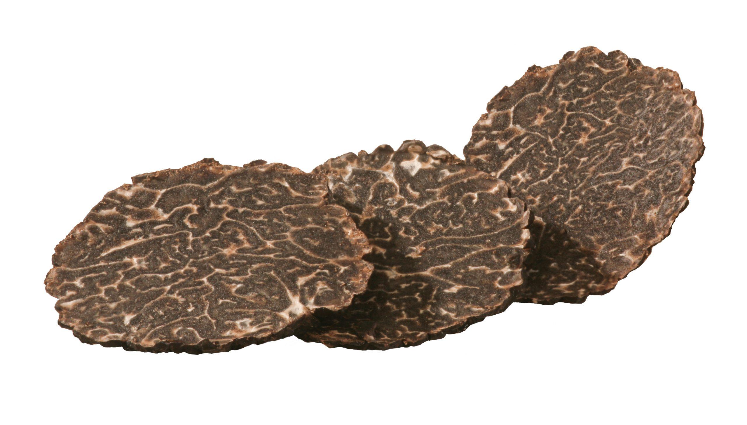 Black Truffle Slices For Truffle Salt