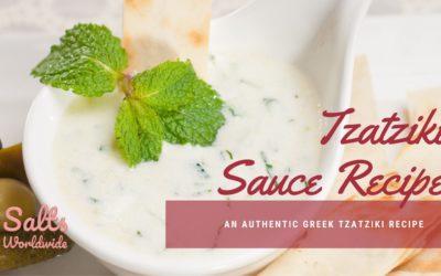 Tzatziki Sauce Recipe: An Authentic Greek Tzatziki Recipe
